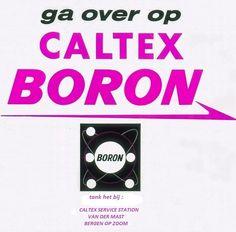Caltex met zijn nieuwe premium merk Boron