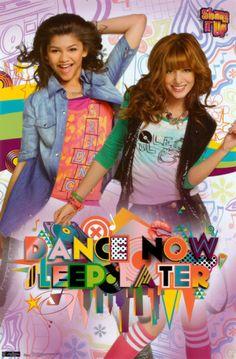 Shake It Up Dance Now Television Poster Television Poster - 33 x 48 cm Old Disney, Disney Xd, Disney Movies, Disney Live, Girl Fashion Style, Star Fashion, Series Da Disney, Bella Thorne And Zendaya, Sleep Late