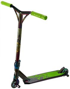 Team Dogz Nebula Rainbow Pro 4 Stunt Scooter. This is the most advanced scooter available and the specification and colour scheme will blow you away