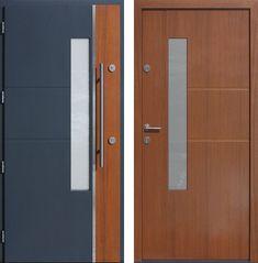 Drzwi wejściowe z kolekcji INOX model 429,1-429,11 produkcji AFB-Kraków