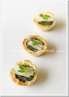 Le Torte di Pezzettiello e non solo...: Stuzzichini agli spinaci