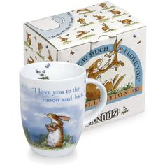 Konitz Guess How Much I Love You Mug, I Love You to the Moon, Giftboxed at EuropeanTableware