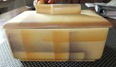 Keramik Art Decó Spritzdekor Keksdose Gebäckdose Rar 20/30 er Jahre | eBay