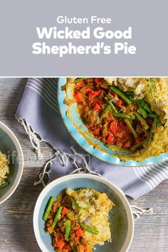 Wicked Good Shepherds Pie is a huge hit at parties. You might want to make a second batch to keep for yourself! The best healthy Chopmeat Recipes Dinners. Wicked Good, Cajun Seasoning, Delicious Dinner Recipes, Family Meals, Green Beans, Dinners, Good Food, Pie, Parties