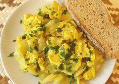 Sült paprika tojással, hagymával | qpac receptje - Cookpad receptek Cornbread, Ethnic Recipes, Food, Millet Bread, Essen, Meals, Yemek, Corn Bread, Eten