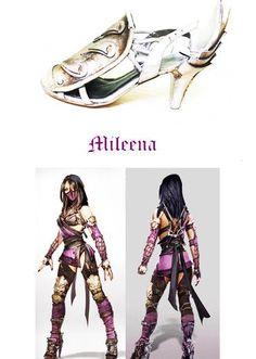 Mileena MK cosplay shoes Mileena, Evil Twin, Comics Girls, Magenta, Wonder Woman, Princess Zelda, Cosplay, Superhero, Female