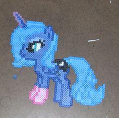 Princess Luna bead sprite by ~Bladespark on deviantART