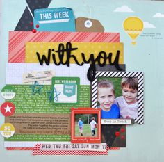Memories Made Scrapbooking Process Video #43: With You