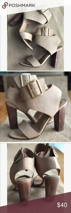 """Splendid Wrap Heels Such cute heels! Light wear marks, pictured. 4"""" heel Splendid Shoes Heels"""