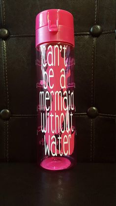 Cute hydration reminder for that special mermaid in your life BPA Free