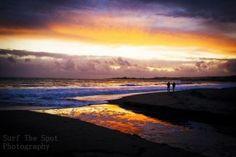 Santa Cruz, Ca sunset.