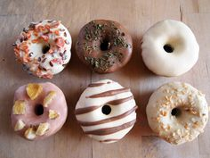 Dog Treats  6Pack Gourmet Donuts by PupcakesTreats on Etsy, $12.00