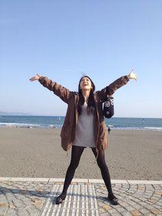 田野優花 - Google+ - 家族で江ノ島と海へ行ってきたよ(((((└(:D」┌)┘))))))) …