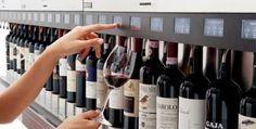 Un bar à vin contrôlé par des machines…