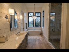 Bathroom cabinets Shiplap Bathroom Bathroom with shiplap Bathroom shiplap accent wall Grey Bathroom Cabinets, Painting Bathroom Cabinets, Shiplap Bathroom, Bathroom Vanities, Bathroom Canvas, Washroom, Bathroom Storage, Large Bathrooms, Grey Bathrooms