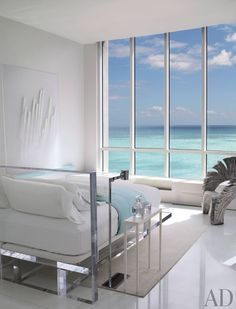 Modern Bedroom by Jennifer Post in Miami Beach, Florida