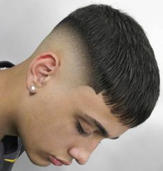 Fade haircuts are considered one of the cleanest hairstyling options which don't require too much maintenance either. Different types of fade exist and the best …  The post Bald Fade Haircut Variations To Try This Year For A Cool, Clean Look appeared first on Mr.Kids Hairstyles. Baby Girl Haircuts, Haircuts With Bangs, Cool Haircuts, Frontal Hairstyles, Boy Hairstyles, Summer Hairstyles, Low Bald Fade, Bald Look, Low Maintenance Haircut
