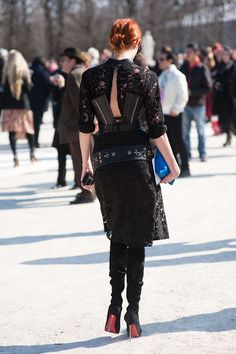 Vanessa Jackman: Paris Fashion Week AW 2011....Taylor