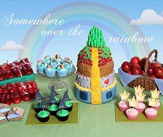 Wizard of Oz party theme
