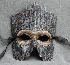 Tree People- woodland mask by Artistathand. I am Groot. Larp, Tree Costume, Costume Carnaval, Tree People, Leather Mask, Carnival Masks, Venetian Masks, Masks Art, Masquerade Ball