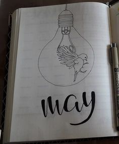 Facebook@BulletJournal-Nederland #May#Coverpage#Monthly#Monthlycoverpage#