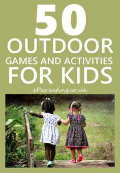 50 games and activities to do in the garden, to keep the kids busy and outdoors in the fresh air and getting some exercise. Kids Outdoor Play, Outdoor Activities For Kids, Outdoor Toys, Activities To Do, Outdoor Games, Games For Kids, Garden Games, Stuck In The Mud