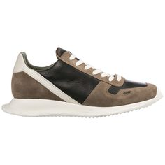 e96a8082232b RICK OWENS RICK OWENS PANELLED SNEAKERS.  rickowens  shoes