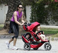 Baby Trend Navigator Double Jogger Stroller - Sonic | Babies ...