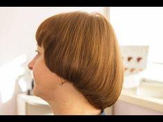 Стрижка сессон на вьющихся коротких волосах. Подробно. - YouTube