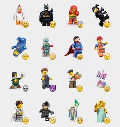 Lego Minifigures Stickers Set | Telegram Stickers