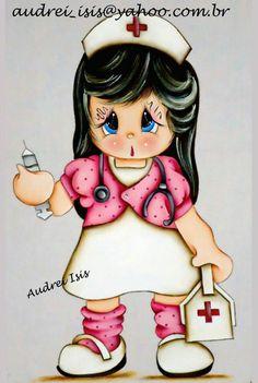 Enfermeira Audrei Ísis