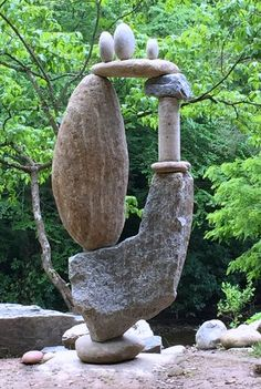 Rock Pebble Stone 岩 石 Pierre камень Pietra Piedra Color Texture Pattern Rock Sculpture, Outdoor Sculpture, Outdoor Art, Stone Sculptures, Garden Sculpture Art, Sculpture Ideas, Abstract Sculpture, Pebble Stone, Pebble Art