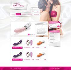 E-commerce sexshop webdesign