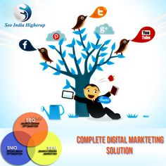 #DigitalMarketing We provide SEO, SMO and Digital Marketing solutions to boost business view more @ www.seoindiahigherup.com