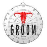 Groom & Bull by Vimago Dart Board #weddinginspiration #wedding #weddinginvitions #weddingideas #bride