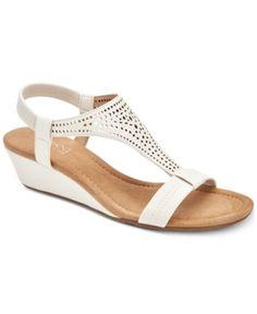 1ce16e02307 Alfani Women s Step  N Flex Vacanzaa Wedge Sandals