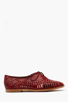 Madrona Oxford - Red