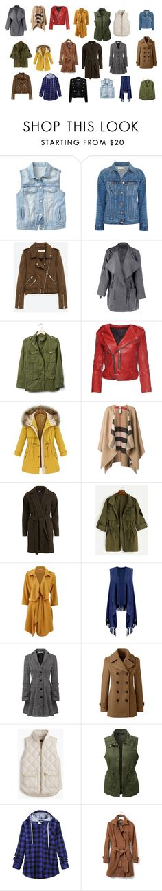 """FALL TOPPERS"" by laura418 on Polyvore featuring Gap, Madewell, Freebird, Marc Jacobs, Burberry, VILA, Boohoo, Relaxfeel, Lands' End and J.Crew"