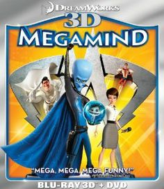 Amazon.com: Megamind (Two-Disc Blu-ray 3D/DVD Combo): Megamind: Movies & TV