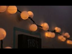 If you're looking to add some cute DIY dorm decor to your dorm room, these DIY ping pong ball globe lights are a fun alternative to fairy lights!