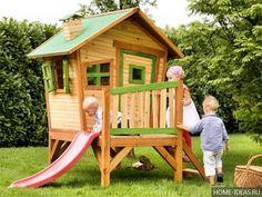 маленькая детская площадка