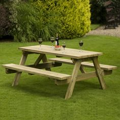 Athol 1800mm A Frame Bench 1800mm x 1626mm x 1670mm 720mm Table Top Redwood Timber Pressure Treated This Athol 'A' Frame Bench and Table is the perfect piece of garden furniture to host your next party or outside picnic. Manufactured to a heavy duty design specification, the Athol Picnic Bench is made of quality Redwood Timber that has been pressure treated to provide protection against the elements. The seating features a handy pivoting action should the table need to be stored away.