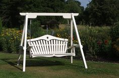 Painted Swing Seat at Forde Abbey