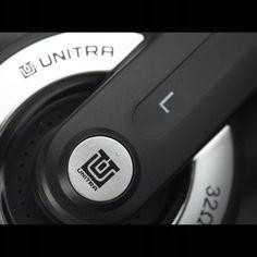 Słuchawki UNITRA SN-40, czarno-srebrne - SŁUCHAWKI - UNITRA