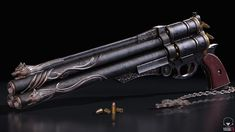 Fan art of Vincent's gun from Final Fantasy VII Anime Weapons, Sci Fi Weapons, Weapon Concept Art, Weapons Guns, 3d Fantasy, Fantasy Armor, Final Fantasy Vii, Final Fantasy Weapons, Final Fantasy Characters