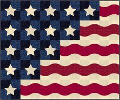 Patriotic Waves by Patrick Lose Studios features Basically Patrick by