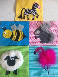 Items similar to Touch & Feel Quiet Book on Etsy Diy Quiet Books, Baby Quiet Book, Felt Quiet Books, Quiet Book Templates, Quiet Book Patterns, Sensory Book, Baby Sensory, Touch And Feel Book, Fidget Quilt