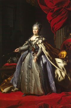 Catherine II of Russia (1729-96); Empress of Russia (1762-96). Also known as Catherine the Great, she is the longest ruling female leader of Russia and presided over the empire during its largest expansion. Catherine also ushered in the Russian Enlightenment, was a correspondent of Voltaire and helped establish the first state-financed higher education institute for women in Europe. Having potentially murdered her husband, Catherine was often the target of cruel rumours regarding her sexuality.