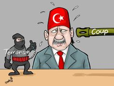 Ayman Toon (2016-06-16) Turquie: Military Coup in Turkey.  Coup in Turkey. Turkey between terrorism and coup
