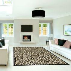 9 Best Leopard Rug Living Rooms Images Home Decor